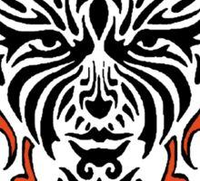 "Women's ""Tiger Lady"" Sticker"