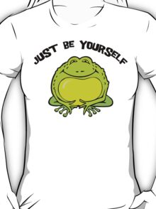 "Funny Frog ""Just Be Yourself"" T-Shirt"
