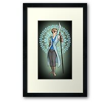 Keladry - Lady Knight Framed Print