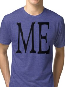 "Women's ""ME"" Tri-blend T-Shirt"