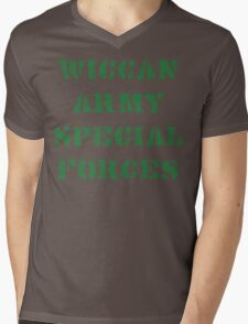 Wiccan Army Special Forces Mens V-Neck T-Shirt