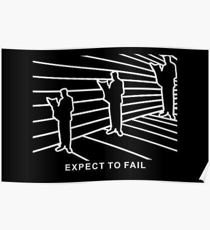 Ames Room - Expect to Fail VRS2 Poster