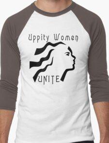 """Women's """"Uppity Women Unite"""" Men's Baseball ¾ T-Shirt"""