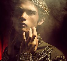 Boy with Crown of Thorns No. 6a by bridex