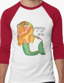 Princess of the Sea Men's Baseball ¾ T-Shirt