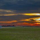 Rural Sunset by Rick McKee