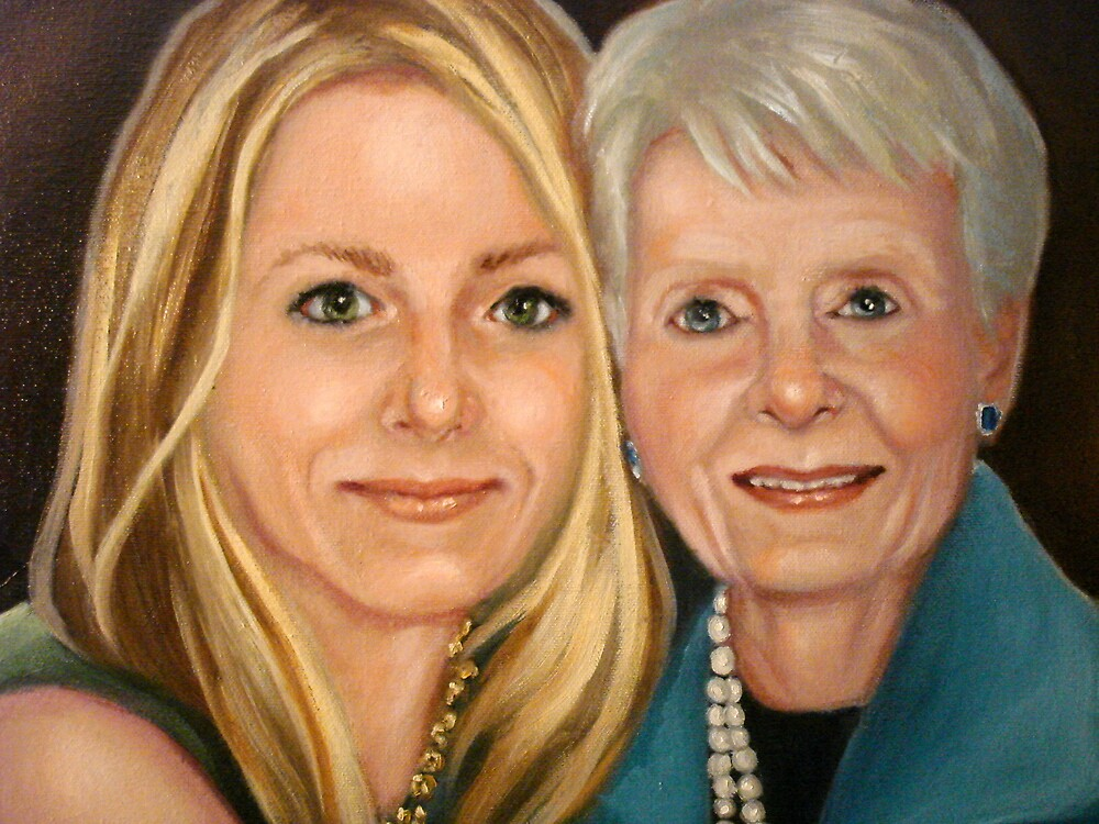 Abby and her Gram by Cathy Amendola