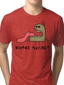 "Funny ""Chick Magnet"" Tri-blend T-Shirt"