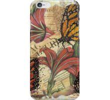 Fallen Butterfly iPhone Case/Skin