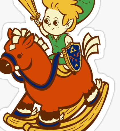 A Link in the Past Sticker