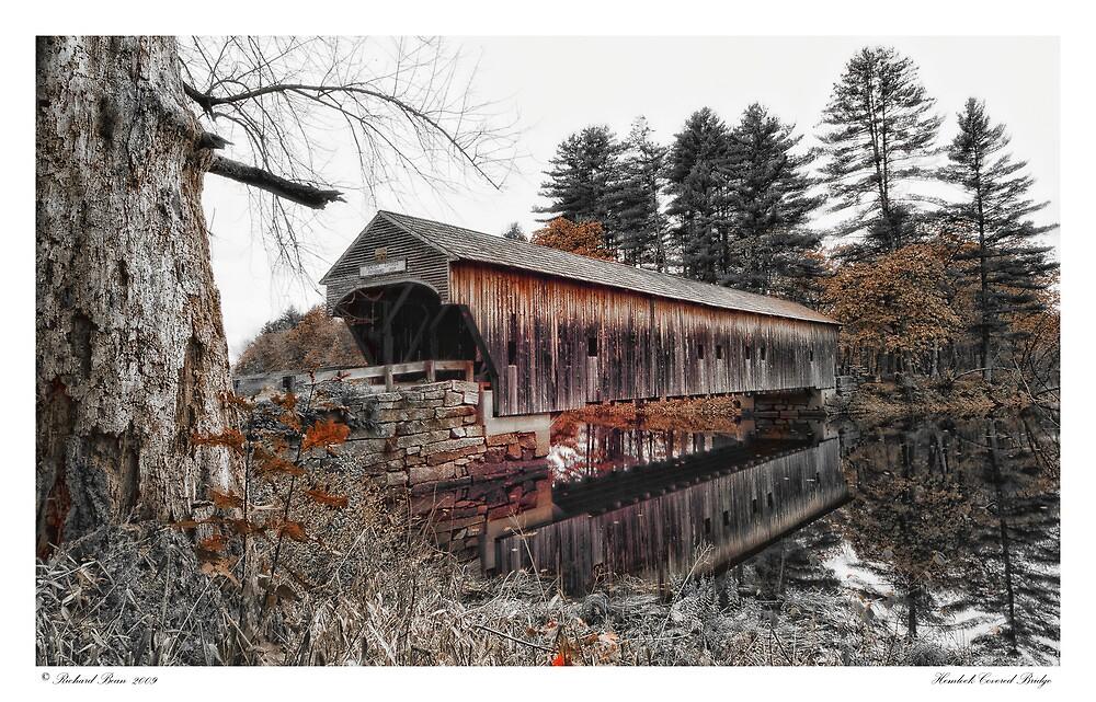 Hemlock Covered Bridge by Richard Bean