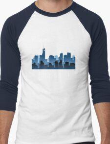 Programmer work at Night Men's Baseball ¾ T-Shirt