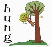 """Funny Men's """"HUNG"""" by T-ShirtsGifts"""