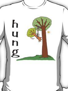 "Funny Men's ""HUNG"" T-Shirt"