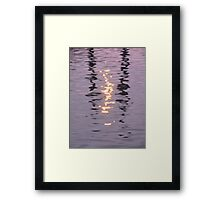 Light and Water - III Framed Print