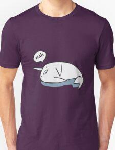 Nahwhal funny nerd geek geeky Unisex T-Shirt