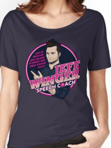 Jeff Winger: Speech Coach Women's Relaxed Fit T-Shirt