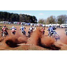 MOTO-X... GO! GO! GO! Photographic Print