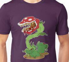 Bloodied Piranha Plant Unisex T-Shirt
