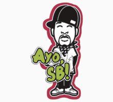 """Ayo, SB!"" T-Shirt by MarajMagazine"
