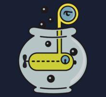 Yellow Submarine in a Bowl VRS2 Kids Tee