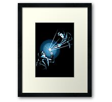 BARTY VS DOCTOR Framed Print