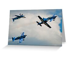 Battle of the Blades Greeting Card