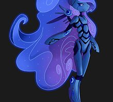 Princess Luna 2.0 by StickFigureQ