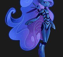 Princess Luna 2.0 by StickFigureQ