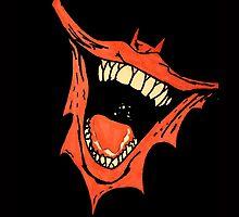 Joker Batman Smile - Death of the Family by CreepifiedMatt