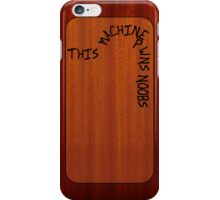 This Machine Pwns Noobs (iPhone 4/S version) - Hank Green iPhone Case/Skin