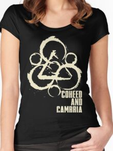 Coheed and Cambria Gunahad6 Women's Fitted Scoop T-Shirt
