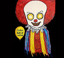 Pennywise from Stephen King's IT by CreepifiedMatt
