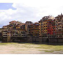 Ponte Vecchio,  Firenze Photographic Print