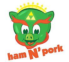 Ham n pork Photographic Print