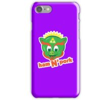 Ham n pork iPhone Case/Skin