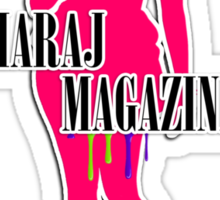 Maraj Magazine T-Shirt Sticker