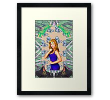 I found peace in a fruit roll up Framed Print