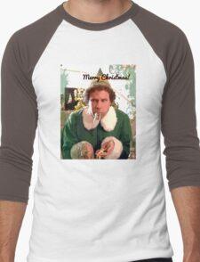 Merry Christmas 2 Men's Baseball ¾ T-Shirt
