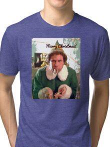 Merry Christmas 2 Tri-blend T-Shirt