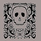 Skull Stencil_warm grey by Utilicon
