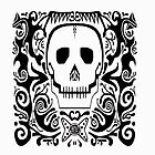 Skull Stencil_white by Utilicon