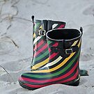 Boots On The Beach by Cynthia48