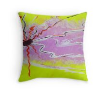 Tesla Coil Throw Pillow