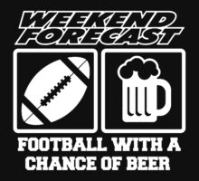 beer with football by trendytee