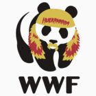 Hulkamania WWF Panda by popephoenix