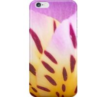 Yellow And Pink Flower Petals iPhone Case/Skin