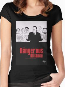 DANGEROUS ALLIANCE - Faction. Redefined. Women's Fitted Scoop T-Shirt
