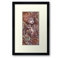 Interwoven Framed Print