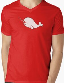 Cute Narwhal 2 Mens V-Neck T-Shirt